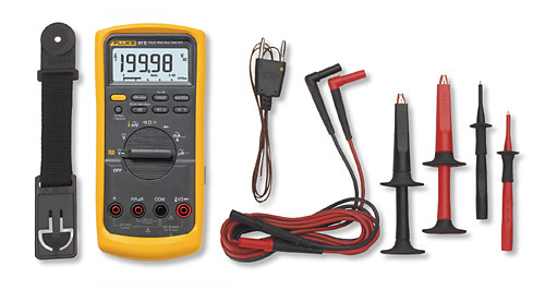 Fluke - Industrial True-Rms Multimeter (Fluke-87-5-E2 Kit), From the product category Fluke