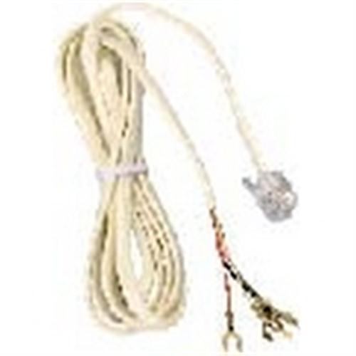 Waldom - Mod Tel Repl Plug/Lug 6'Ivory (30-9544), From the product category Waldom