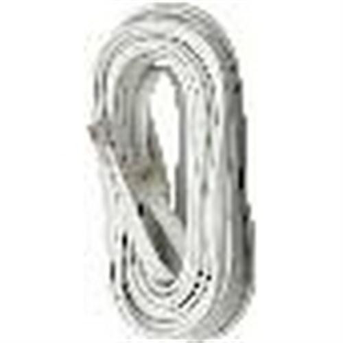 Waldom - Mod Plug-Plug Cord 15' Silver (30-9566), From the product category Waldom