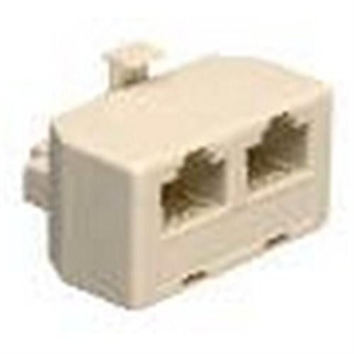 """Waldom - Ivory Mod """"T""""Duplex Adapter 8C (30-9649), From the product category Waldom"""