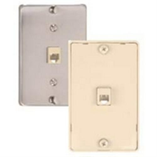 Waldom - Ivory Quick Mount Wall Jack 4C (30-9704), From the product category GC Electronics/ Waldom