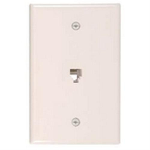Waldom - White Flush Wall Jack 4C (30-9717), From the product category Waldom