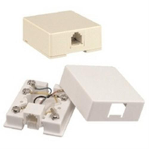Waldom - Almond Mod Surface Jack 4C (30-9746), From the product category GC Electronics/ Waldom