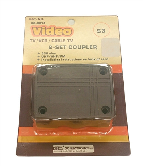 Waldom - 2 Set Coupler Tv/Vcr/Catv (32-3014), From the product category GC Electronics/ Waldom