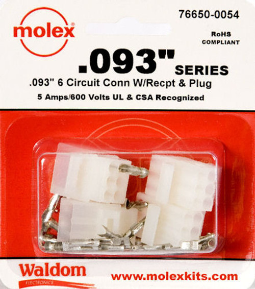 Gc Waldom - 6 Position Conn Kit (76650-0054), From the product category Waldom