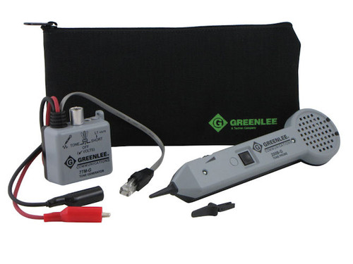 Greenlee - Basic Tone And Probe Kit, 52 Volt, Plastic Tip (601K-G), From the product category Tone & Probe