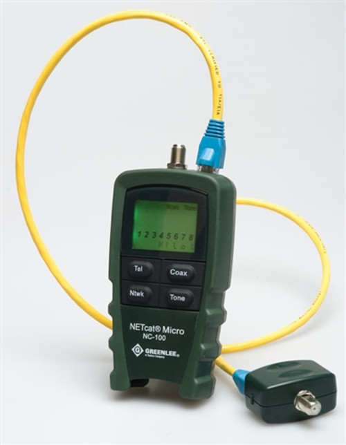 Greenlee - Netcat Lan Wiring Tester (Nc-100), From the product category Greenlee
