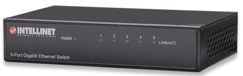 INTELLINET - 5-PORT GIGABIT ETHERNET SWITCH (530378)