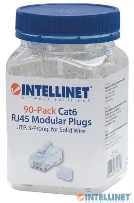 INTELLINET - CAT6 PLUGS 90/PK (790604)