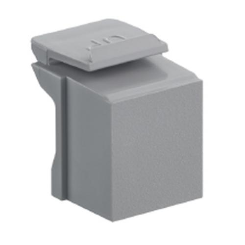 grey, blank quickport insert