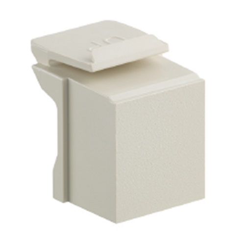 Ivory, blank quickport insert