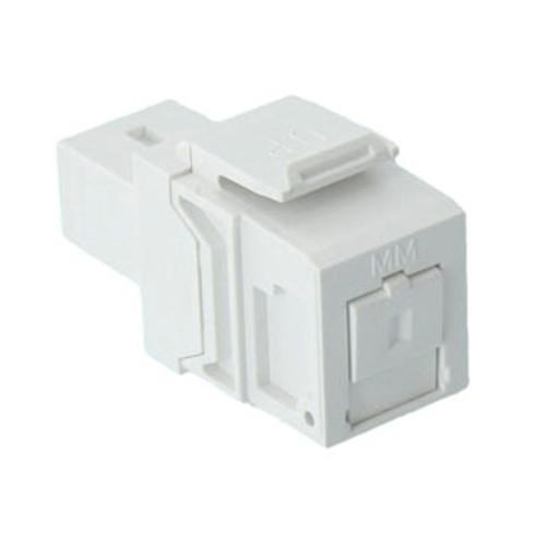 white, quickport fiber optic module
