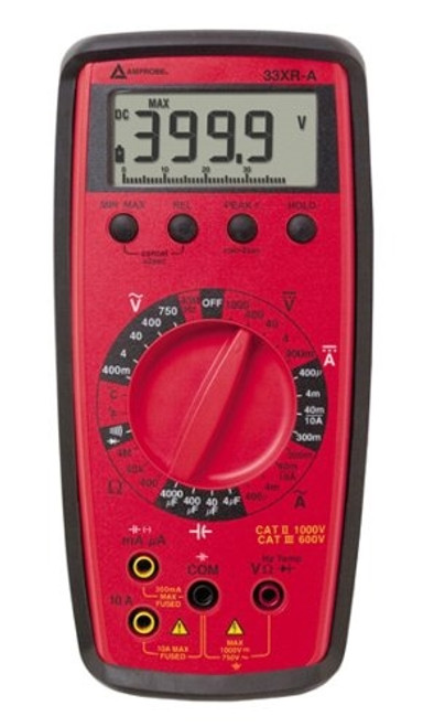 Amprobe - 33Xr-A Prof Dmm W/Temp & Cap (33Xr-A), From the product category Test & Measurement