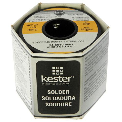 KESTER - SOLDER,WIRE-60/40,.062DIA (24-6040-0061)