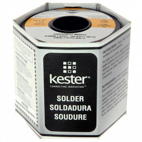 KESTER - SOLDER WIRE 63/37 .025 (24-6337-0018)