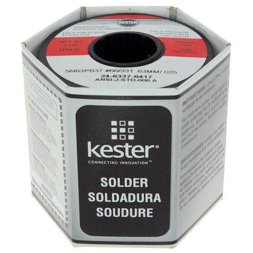 KESTER - SOLDERWIRE 63/37 .025 DIA (24-6337-6417)