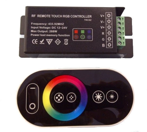 RF remote touch controller