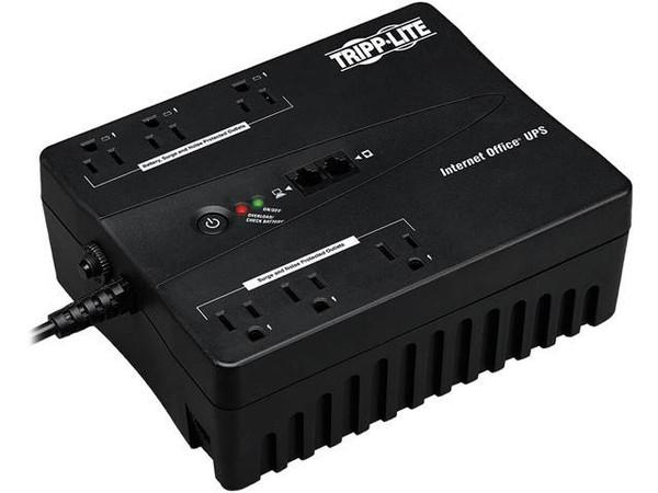 TRIPP LITE - Internet Office 120V 350VA 180W Standby UPS, Ultra-Compact Desktop, USB (INTERNET350U)