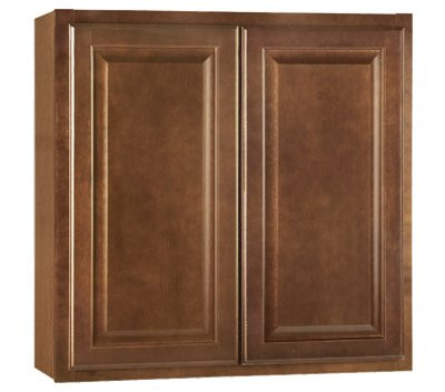 Continental Cabinets 2478232 Rsi Home Products Hamilton Kitchen Wall Cabinet Fully Assembled Raised Panel Oak 30x30x12 In