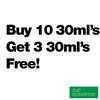 Buy 10 30ml's Get 3 Free - Full Spectrum - $7.38/ml