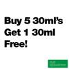 Buy 5 30ml's Get 1 Free - Full Spectrum - $8.19/ml