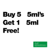 Buy 5 5ml's Get 1 Free - Full Spectrum - $13.33/ml