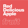 Red Delicious Apple by xtra laboratories