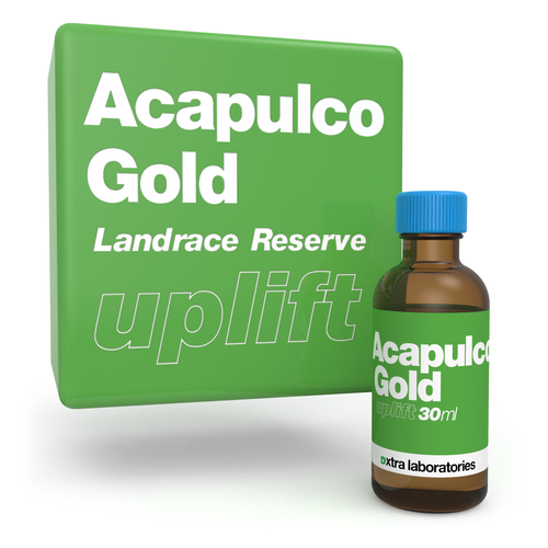Acapulco Gold strain specific terpenes by xtra laboratories