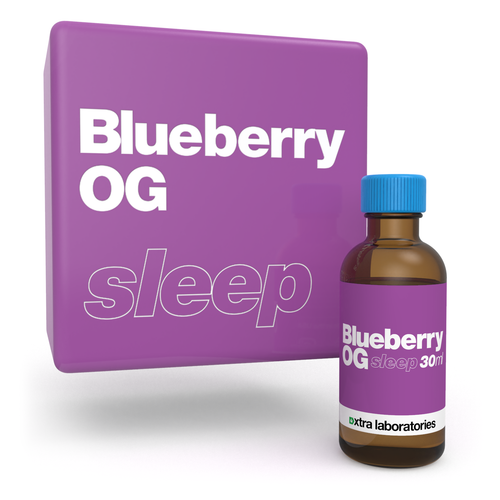 Blueberry OG strain specific terpenes by xtra labs
