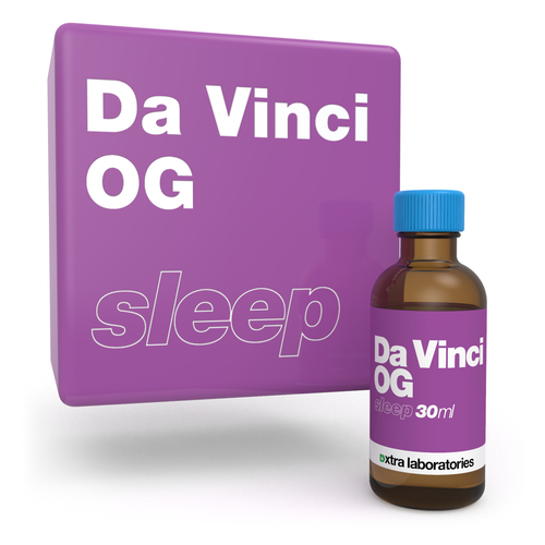 Da Vinci OG strain specific terpene blend by xtra labs