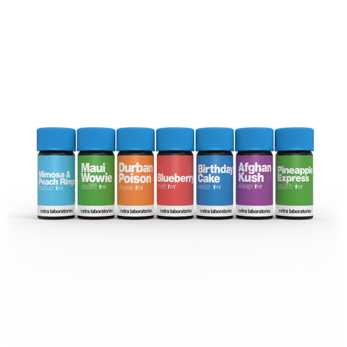 7 1ml sample bottles by xtra laboratories