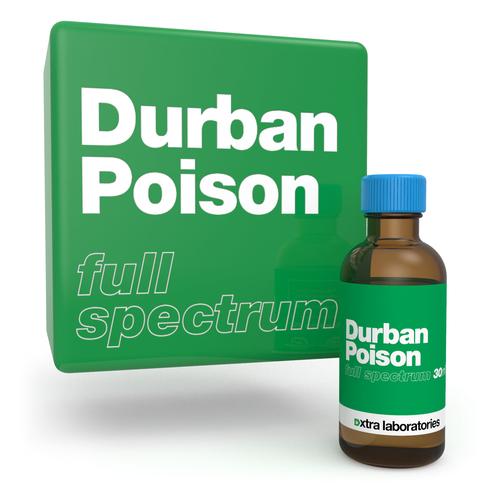 Durban Poison full spectrum terpene blend by xtra laboratories