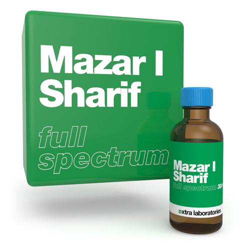 Mazar I Sharif full spectrum strain specific terpene blend by xtra laboratories