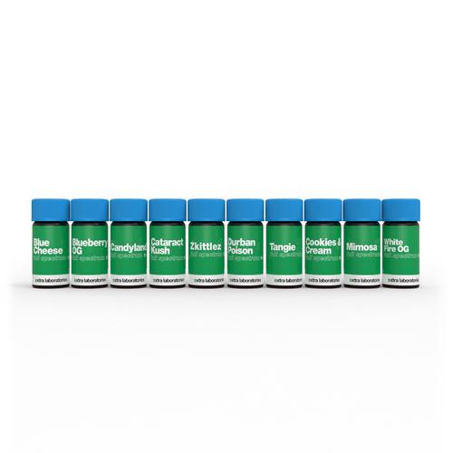 Full Spectrum Sample Pack - 10 1ml bottles by xtra laboratories