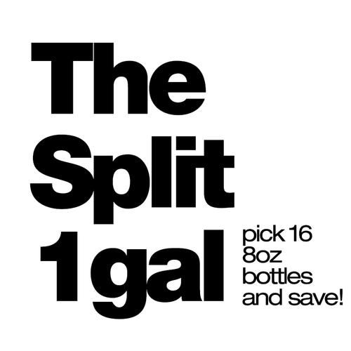 The Split 1gal - 1 Gallon - $2.24/ml