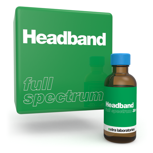 Headband full spectrum terpene blend by xtra laboratories