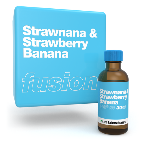 Strawnana & Strawberry Banana fusion blend by xtra laboratories