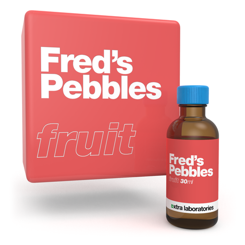 Fred's Pebbles flavor by xtra laboratories