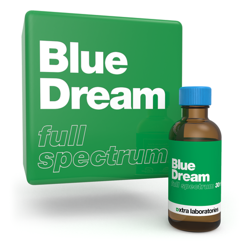 Blue Dream full spectrum terpenes by xtra laboratories