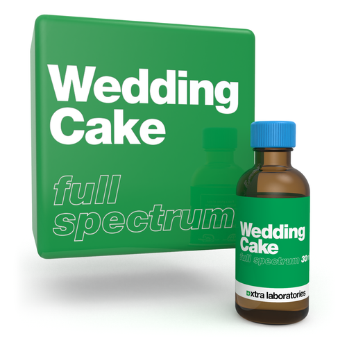 Wedding Cake full spectrum strain specific terpene blend by xtra laboratories