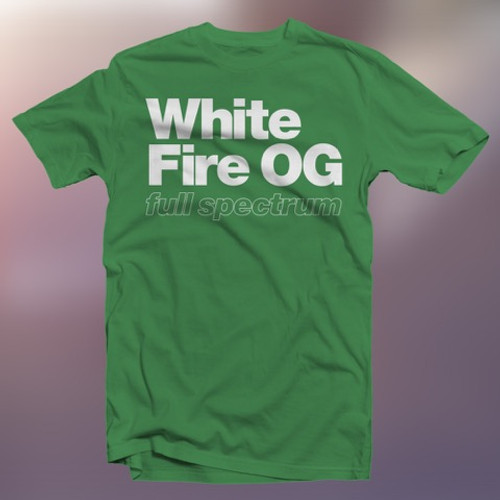 White Fire FS T-Shirt Front