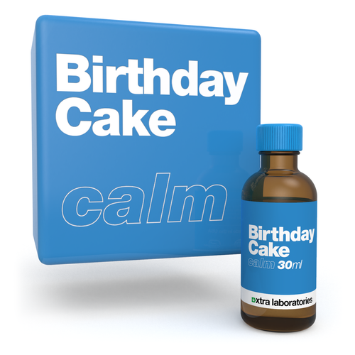 Birthday Cake strain specific terpene blend by xtra laboratories
