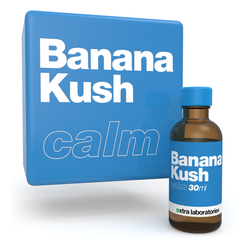 Banana Kush strain specific terpene blend by xtra laboratories