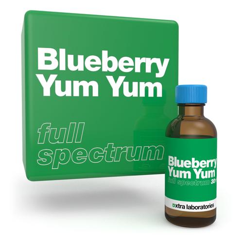 Blueberry Yum Yum full spectrum strain specific terpene blend by xtra laboratories