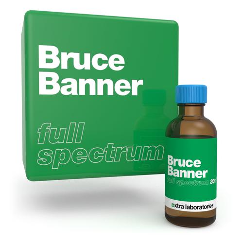 Bruce Banner full spectrum strain specific terpene blend by xtra laboratories