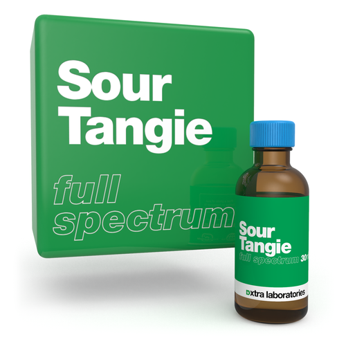 Sour Tangie full spectrum blend by xtra laboratories