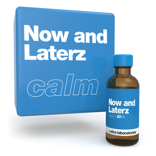 Now and Laterz terpene blend by xtra laboratories