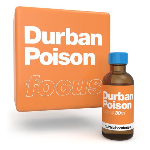 Durban Poison strain specific terpenes by xtra laboratories