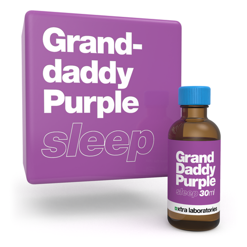Granddaddy Purple strain specific terpenes by xtra labs
