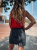Fall In Lubbock Twill Skirt